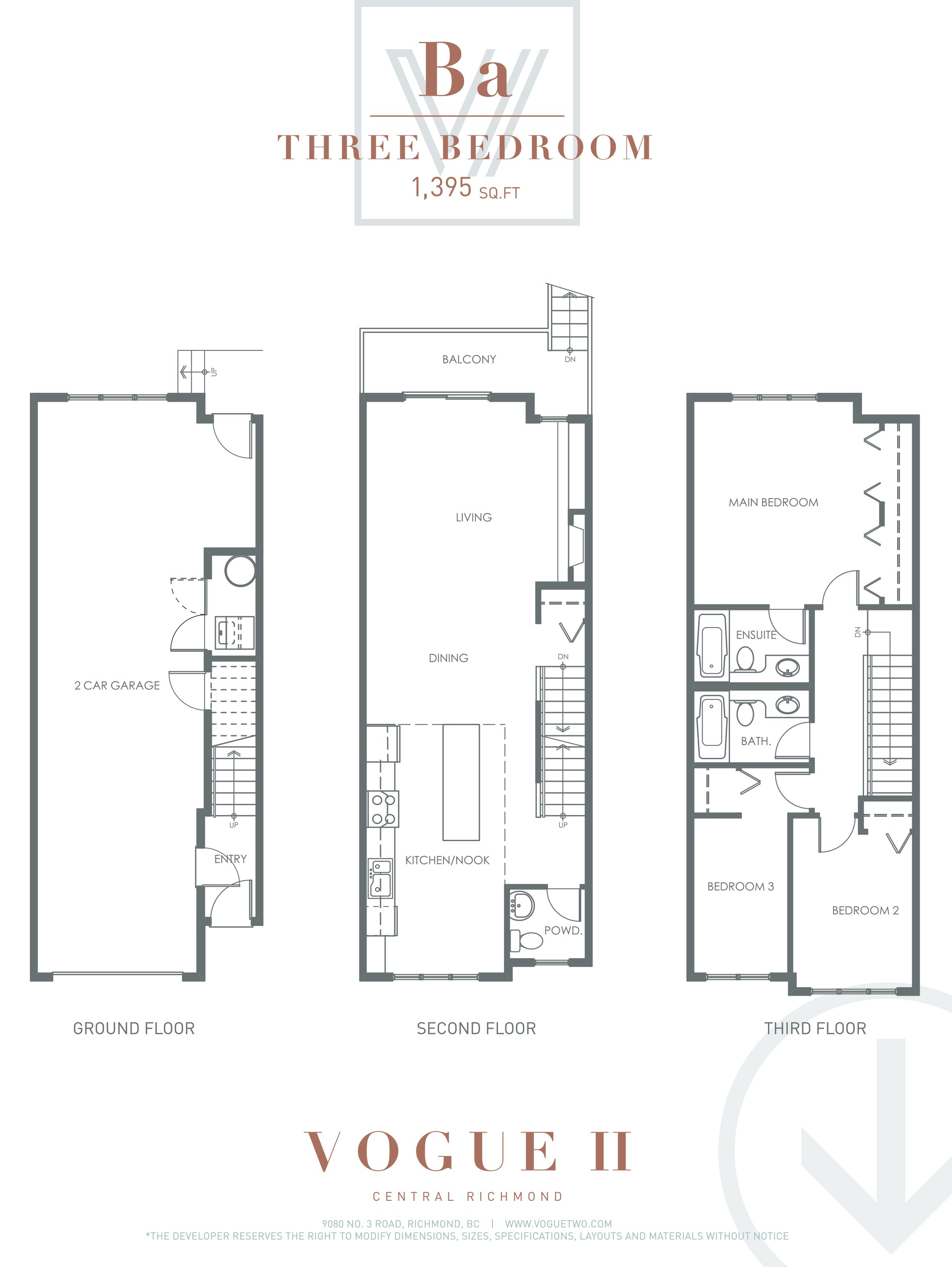 100 Bc Floor Plans Boca Raton Community Townhome
